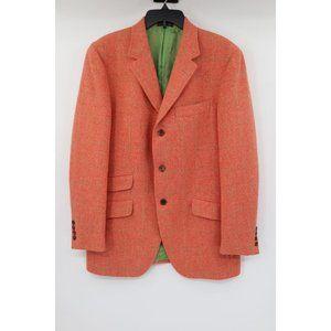 Vintage Tommy Hilfiger mens 52/42 tweed sport coat